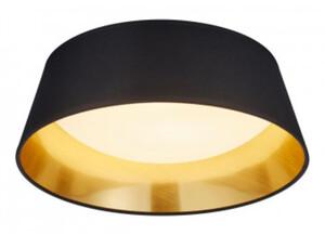 LED-Deckenleuchte R62871279 D. 34 cm schwarz/goldfarbig