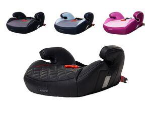 Osann Kinderautositz »Junior Isofix Gurtfix«, stylische Sitzerhöhung, mit Armlehnen