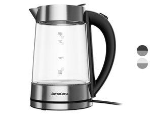 SILVERCREST® Glas-Wasserkocher, 3000 Watt, mit Farbwechsel