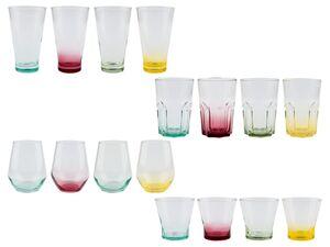 ERNESTO® Gläser Set, 4 Stück, farbig