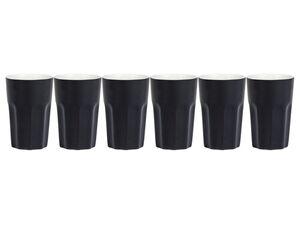 ERNESTO® Espressobecher, 6 Stück, aus Porzellan