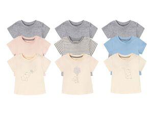 LUPILU® 3 Baby T-Shirts, mit Bio-Baumwolle