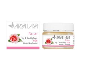 ARYA LAYA Rose Tag & Nachtpflege RICH 50 ml