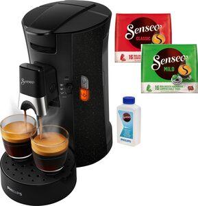 Senseo Kaffeepadmaschine Select ECO CSA240/20, inkl. Gratis-Zugaben im Wert von € 14,- UVP zusätzlich zum Willkommens-Paket (80 Pads & Paddose gratis bei Registrierung)