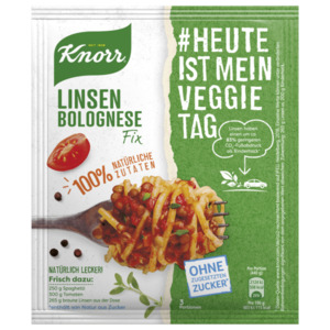 Knorr Fix Linsen Bolognese 43g