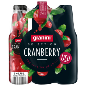 Granini Selection Cranberry 6x0,75l