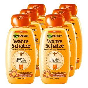 Garnier Wahre Schätze Shampoo Honig 250 ml, 6er Pack