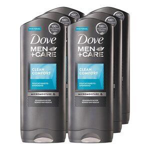 Dove Dusche Clean Comfort 400 ml, 6er Pack