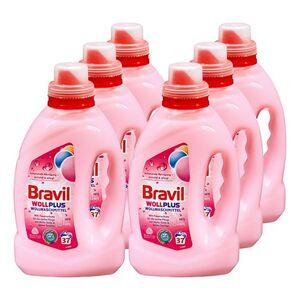 Bravil Wollwaschmittel 37 Waschladungen, 6er Pack