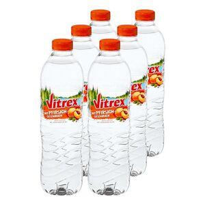 Vitrex Wasser mit Pfirsichgeschmack 1,5 Liter, 6er Pack