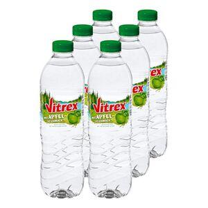 Vitrex Wasser mit Apfelgeschmack 1,5 Liter, 6er Pack