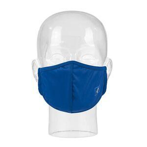 HSV Mund-Nase-Maske blau/weiß/schwarz