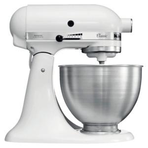 KitchenAid Classic Küchenmaschine 5K45SSEFW 4,3l weiß matt