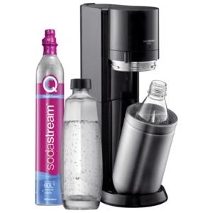 SodaStream Duo Wassersprudler titan, Schwarz