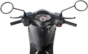 GT UNION Motorroller »Matteo 45«, 50 ccm, 45 km/h, Euro 5, mit Topcase