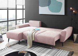 Places of Style 3-Sitzer »Rocco«, mit Bettfunktion und Bettkasten