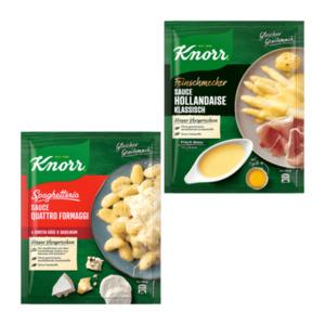 KNORR     Feinschmecker-Sauce