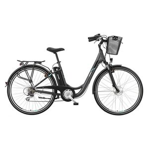 "Telefunken Multitalent RC820 28"" Alu City E-Bike 7-Gang Kettenschaltung anthrazit"