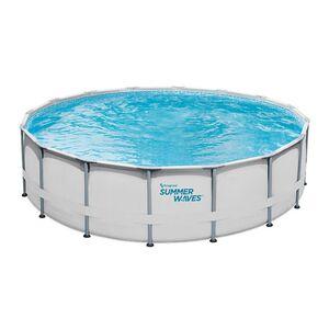 Summer Waves Elite Pool Ø488 x 122 cm lichtgrau