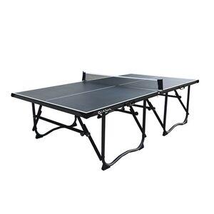 L.A. Sports Tischtennisplatte 4-fach faltbar mit Rollen & Netz