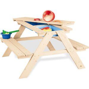 Pinolino Kindersitzgarnitur 'Matsch-Nicki für 4', natur