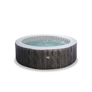 EXIT Wood Deluxe Spa Whirlpool ø204x65 cm, grau