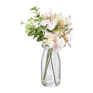 Kunstpflanze Hortensie im Glas