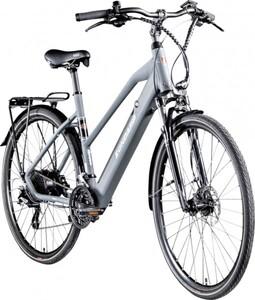 Zündapp E-Bike Trekking 28 Zoll Z810 Damen, 24-Gang, grau