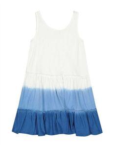 Mädchen Kleid - Batikmuster