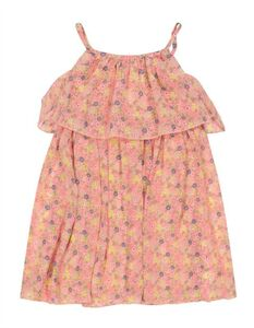 Mädchen Kleid - Florales Muster