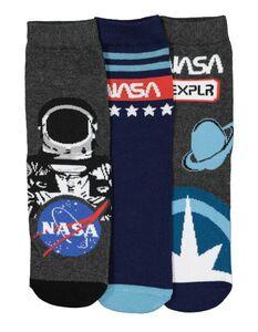 Jungen NASA-Socken im 3er-Pack