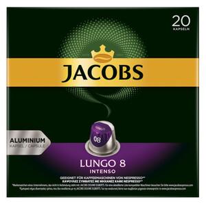 Jacobs Lungo 8 Intenso Kaffeekapseln 20ST 104g