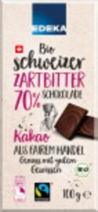 EDEKA Bio Schweizer-Schokolade