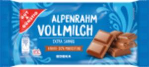 Gut & Günstig Alpenrahm-Schokolade