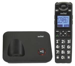 Komfort-Telefon D7000 Vita+ mit großer SOS-Direktwahltaste und Vibrationsalarm