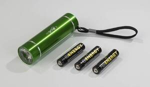 LED Taschenlampe mit 1 Watt aus Aluminium