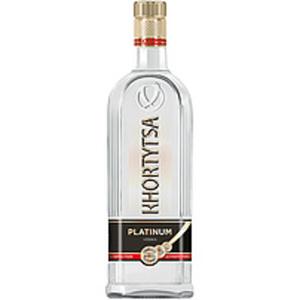 """Vodka """"Khortytsa Platinum"""" 40% vol."""