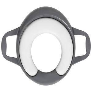 My Baby Lou Toilettentrainer  MIT Weichem Sitzkissen  Grau