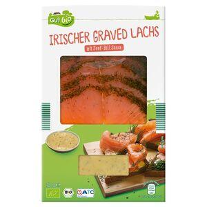 GUT bio Bio Irischer Graved Lachs 120 g