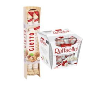 Ferrero Raffaello oder Giotto