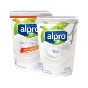 Alpro Yoghurtalternative Natur gesüßt oder ungesüßt