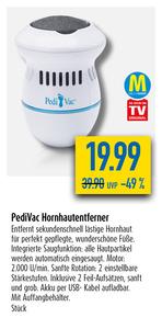 PediVac Hornhautentferner