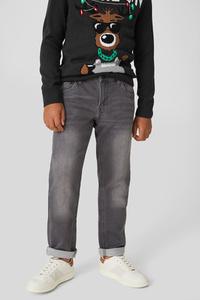 C&A Slim Jeans-Jog Denim, Grau, Größe: 158