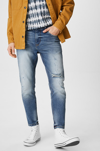 C&A CLOCKHOUSE-Carrot Jeans, Blau, Größe: W28 L32