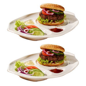 Villeroy & Boch Burgerteller 2er Set BBQ
