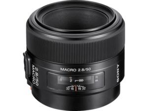SONY SAL50M28 Vollformat 50 mm - f/2.8 Circulare Blende (Objektiv für Sony A-Mount, Schwarz)