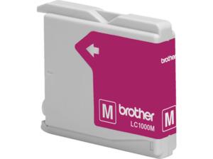 BROTHER Original Tintenpatrone Magenta (LC-1000M)