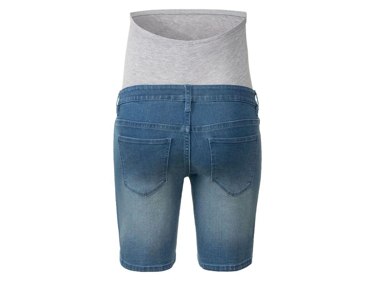 Bild 5 von ESMARA® Umstands-Jeansshort Damen, mit Bauchband