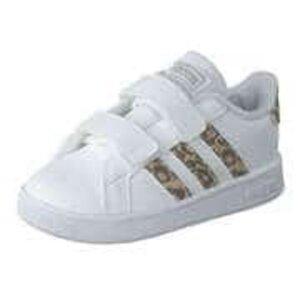 adidas Grand Court I Sneaker Mädchen weiß