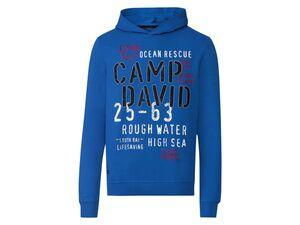 Camp David Sweatshirt Herren, leger geschnitten